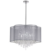 Dainolite Lighting Illusion 8 Light Chandelier in Polished Chrome  ILL-258C-PC-814