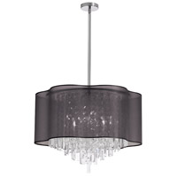 Dainolite Lighting Illusion 8 Light Chandelier in Polished Chrome  ILL-258C-PC-815