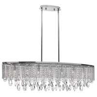 Dainolite Intermezzo 7 Light Chandelier in Polished Chrome INT-387HC-PC