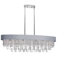 Dainolite Intermezzo 7 Light Chandelier in Polished Chrome INT-417HC-PC-SV