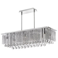 Jacqueline 10 Light 36 inch Polished Chrome Chandelier Ceiling Light