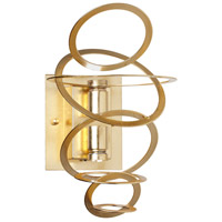 Dainolite Janus 2 Light Wall Sconce in Gold JAN-52W-GLD
