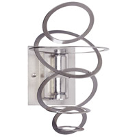Dainolite Janus 2 Light Wall Sconce in Satin Chrome JAN-52W-SC