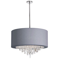 Jasmine 8 Light 25 inch Polished Chrome Chandelier Ceiling Light