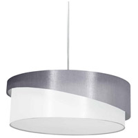Dainolite JAZ243-PC-835-790 Jazlynn 1 Light 24 inch Polished Chrome Pendant Ceiling Light