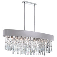 Dainolite JMS368-PC-634 Josephine 8 Light Polished Chrome Chandelier Ceiling Light