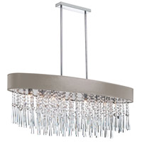 Dainolite Josephine 8 Light Chandelier in Polished Chrome JMS368-PC-637