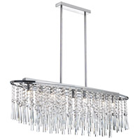 Dainolite Lighting Bohemian 8 Light Chandelier in Polished Chrome  JOS-36-8-PC