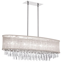 Dainolite Josephine 8 Light Chandelier in Polished Chrome JOS368-PC-117