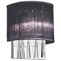Josephine 2 Light 5 inch Polished Chrome Wall Sconce Wall Light