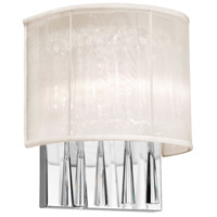 Dainolite JOS72-W-PC-117 Josephine LED 5 inch Polished Chrome Wall Sconce Wall Light