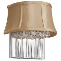 Julia 2 Light Polished Chrome Sconce Wall Light