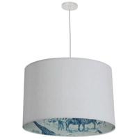Dainolite KAT-241P-WH-AYTEL Kate LED 24 inch White Pendant Ceiling Light Aytel