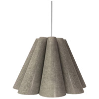 Dainolite KEN-M-2423 Kendra 4 Light 33 inch Polished Chrome Pendant Ceiling Light