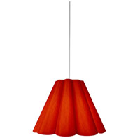 Dainolite KEN-S-795 Kendra 1 Light 19 inch Polished Chrome Pendant Ceiling Light