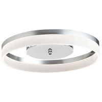 Kepler 1 Light 18 inch Silver Flush Mount Ceiling Light