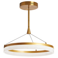 Kepler 1 Light 24 inch Gold Pendant Ceiling Light