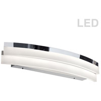 Dainolite KEP-26CW-PC Kepler LED 26 inch Polished Chrome Wall Lamp Wall Light Curved