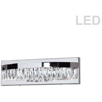 Kimberly LED 14 inch Polished Chrome Vanity Wall Light