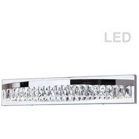 Kimberly LED 28 inch Polished Chrome Vanity Wall Light