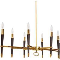 Dainolite LAN-408HC-VB Langford LED 40 inch Vintage Bronze/Black Chandelier Ceiling Light in No Shade