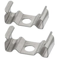 Dainolite LD-CLIP Signature Stainless Outdoor Mounting Clips, for LD-TRK Series thumb