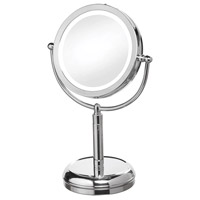 Dainolite LEDMIR-2T-PC Signature Polished Chrome Magnifying Mirror