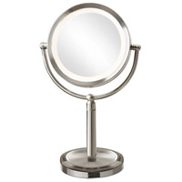 Dainolite LEDMIR-2T-SC Signature Satin Chrome Magnifying Mirror