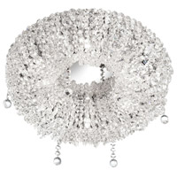 Dainolite Lighting Luxe 5 Light Chandelier in Polished Chrome  LUX-166FH-PC