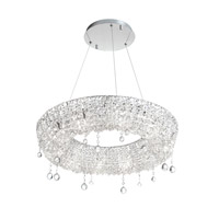 Dainolite Lighting Luxe 10 Light Chandelier in Polished Chrome  LUX-2610C-PC