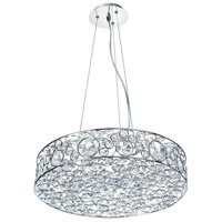 Dainolite Lighting Lynda 6 Light Chandelier in Polished Chrome  LYN-18-6-PC