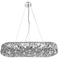 Dainolite Lynda 10 Light Chandelier in Polished Chrome LYN-3210C-PC