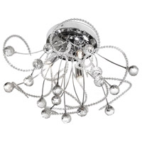 Lyric 3 Light 16 inch Polished Chrome Flush Mount Ceiling Light