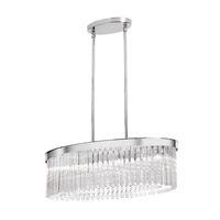 Dainolite Lighting Marilyn 6 Light Chandelier in Polished Chrome  MAR-25-6-PC