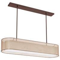 Dainolite Lighting Melissa 4 Light Chandelier in Oil Brushed Bronze  MEL448-811-720-OBB