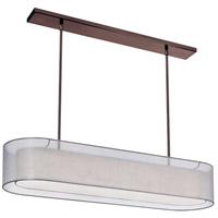 Dainolite Lighting Melissa 4 Light Chandelier in Oil Brushed Bronze  MEL448-814-720-OBB