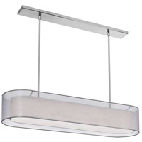 Melissa 4 Light 12 inch Satin Chrome Chandelier Ceiling Light