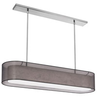 Dainolite Melissa 4 Light Pendant in Satin Chrome MEL448-815-790-SC
