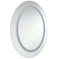 Dainolite Signature 2 Light Vanity Mirror in Silver MLED-2823E-IL