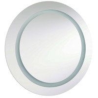 Dainolite Signature 2 Light Vanity Mirror in Silver MLED-3030R-IL