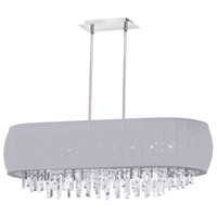 Dainolite Maya 8 Light Chandelier in Polished Chrome MYA-42C-PC-923