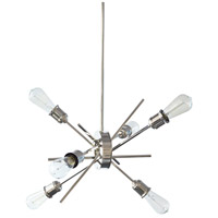 Dainolite NEB-206P-BC Nebraska LED 20 inch Burnished Chrome Pendant Ceiling Light