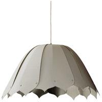 Dainolite NOA151-M-2423 Noa 1 Light 21 inch Polished Chrome Pendant Ceiling Light