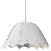 Dainolite NOA151-M-691 Noa 1 Light 21 inch Polished Chrome Pendant Ceiling Light