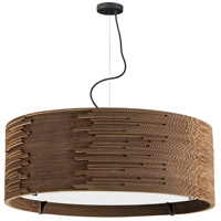 Dainolite ODI-243P-CDB Odin 3 Light 24 inch Cardboard Pendant Ceiling Light