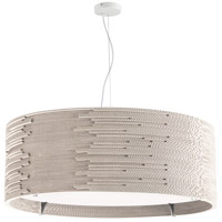 Dainolite ODI-243P-MW Odin 3 Light 24 inch Matte White Pendant Ceiling Light