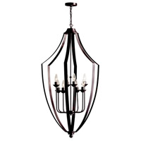 Parkdale 8 Light 24 inch Vintage Oiled Brushed Bronze Chandelier Ceiling Light