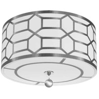 Pembroke 4 Light 19 inch Polished Chrome Flush Mount Ceiling Light