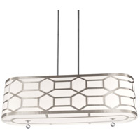 Pembroke 4 Light 24 inch Polished Chrome Horizontal Pendant Ceiling Light