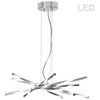Pirouette LED 26 inch Polished Chrome Pendant Ceiling Light